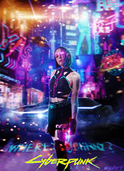 Cyberpunk 2077: Where is Johnny? by Wishart01