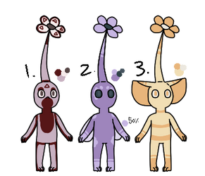 [OPEN]Flower Palette Pikmin Adopts|Points