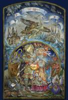Idun and Bragi by smolenskaya