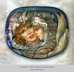 Princess Swan and Tsar Saltan