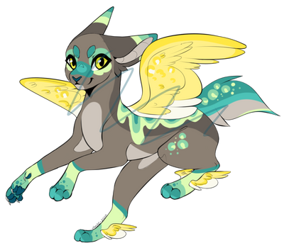 Flappy Cat Adopt REDUCED PRICE [OPEN] by Firedrag0ndraws