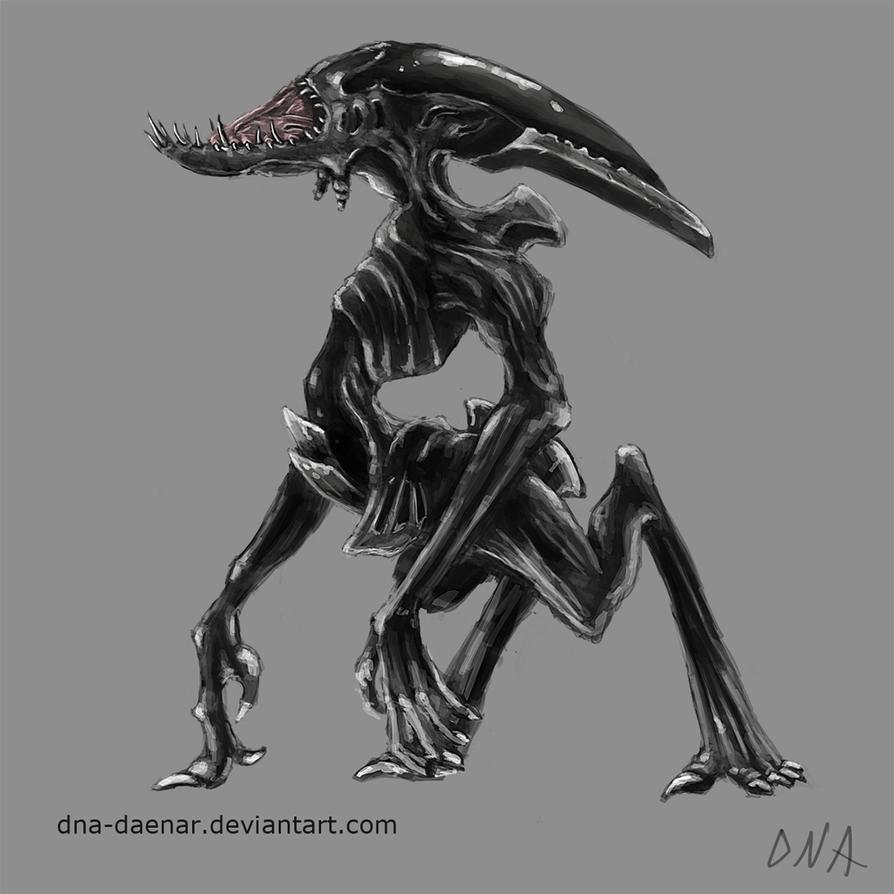 Xenomorph Deacon Adult Deacon Concept 2...