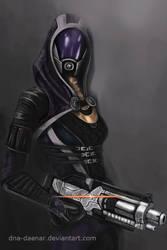 She has a shotgun by DNA-Daenar