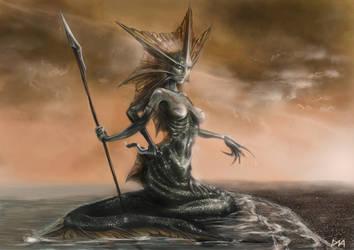 Siren Naga by DNA-Daenar