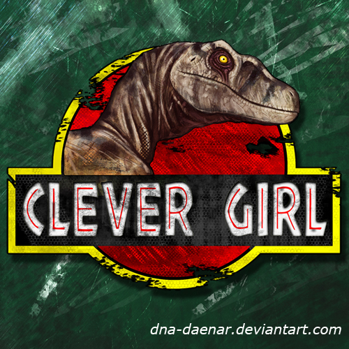 Clever Girl Raptor: Clever Girl LOGO By DNA-Daenar On DeviantArt