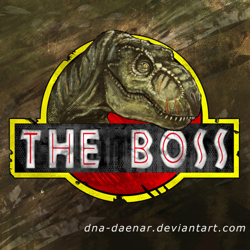 Clever Girl Raptor: The Boss LOGO By DNA-Daenar On DeviantArt