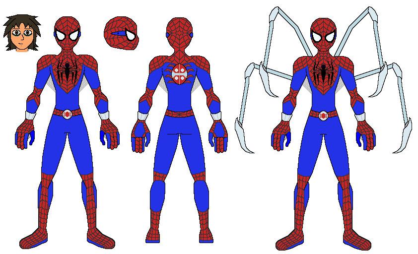 Spiderman Costume 2 by AJ-Prime on DeviantArt