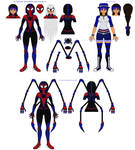 The Impossible Spider-Woman~MK-1.5 Spidersuit +Bio