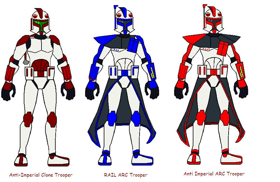 Line Art Uniform : Anti imperial clone troopers by aj prime on deviantart