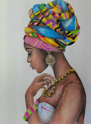 African Beauty by DaedraPrincess25