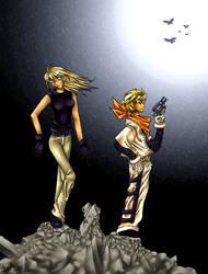 Zazie the Beast incarnations by puchiko2