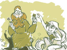 St Patrick Meets Aisling by puchiko2
