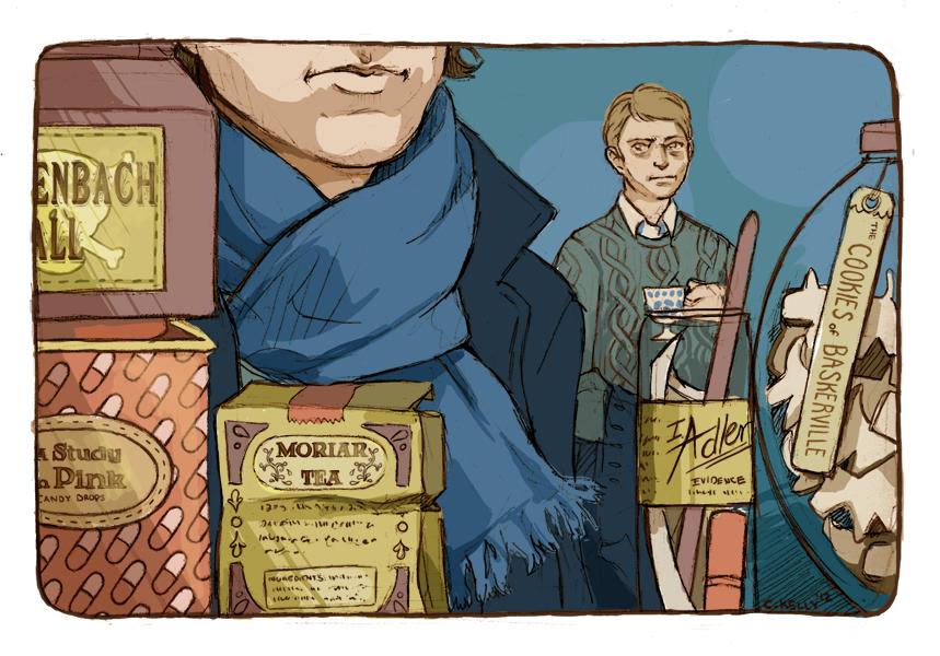 Sherlock's Pantry by puchiko2