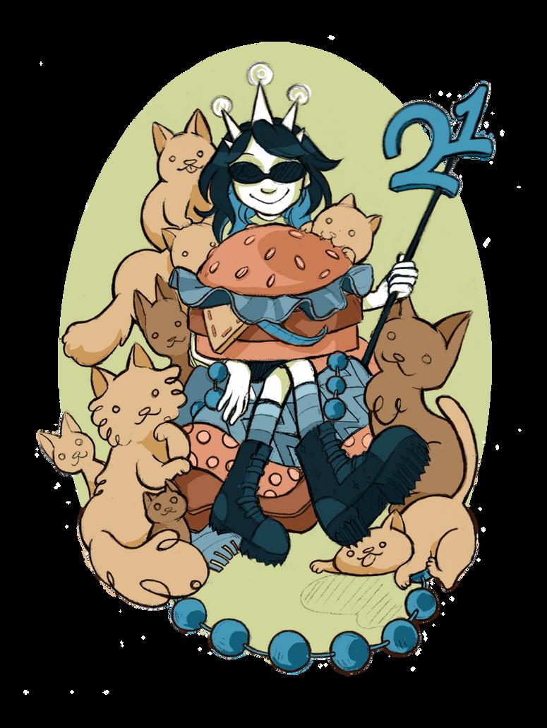 Birthday Cats by puchiko2