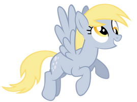 The Lovable Derpy! by TechRainbow