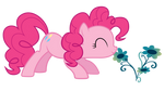 Stop and smell the flowers, Pinkie
