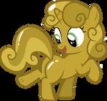 Gold Sweetie Belle
