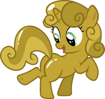 Gold Sweetie Belle