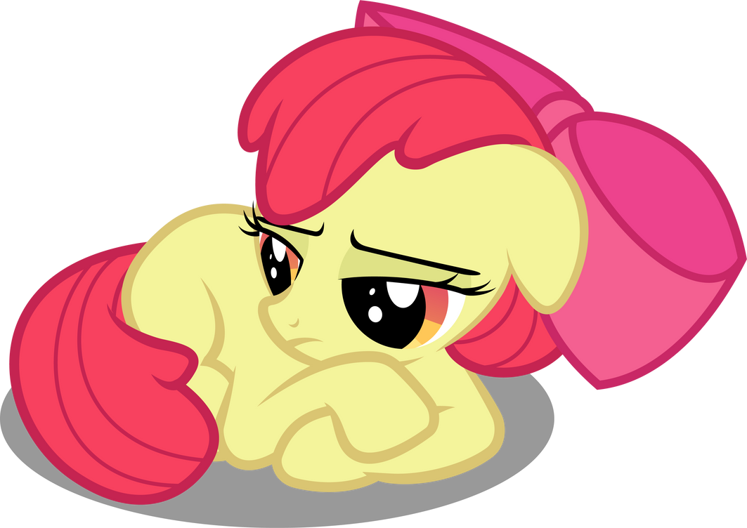 Am I The Only One Who Thinks AppleBloom Looks Like a Puppy ...