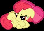 Gloomy Apple Bloom