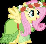Fluttershy in her dress