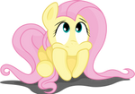 Fluttershy bored