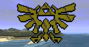 Minecraft TriForce Royal Crest by project-offset