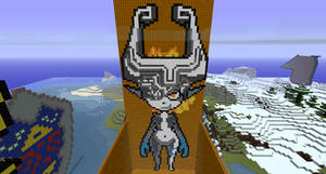 Minecraft Midna by project-offset