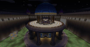 Minecraft Dome House, Thing? by project-offset