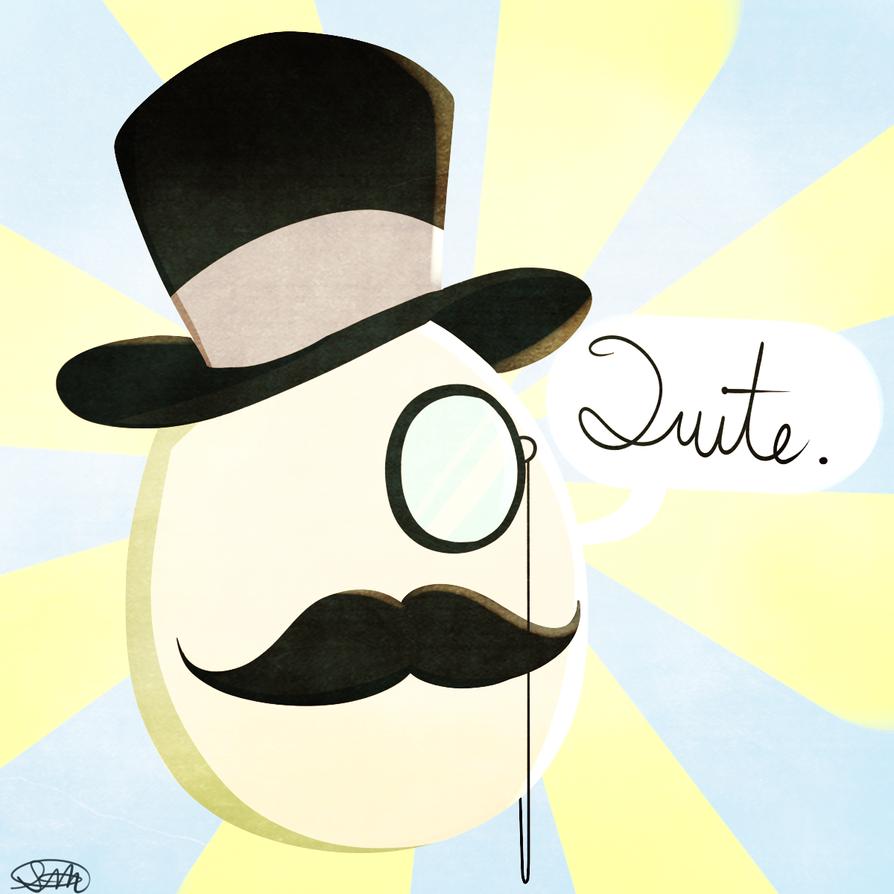 Sir Egg by Ranoutofideas