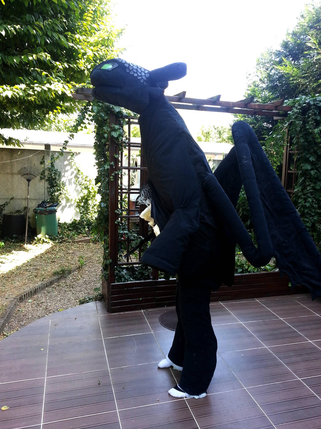 Toothless How To Train Your Dragon Quadsuit Part18 By Chirunocosplay  Toothless How To Train Your Dragon