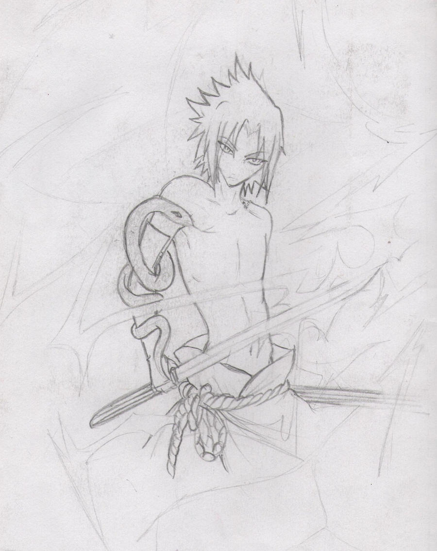 .::sasuke::. by Stray-Ink92