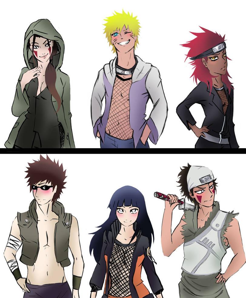 Fanfiction naruto and hana romance Naruto X