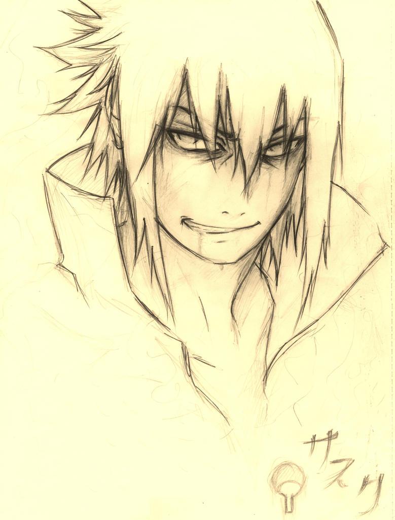 ~:Sasuke:~ by Stray-Ink92