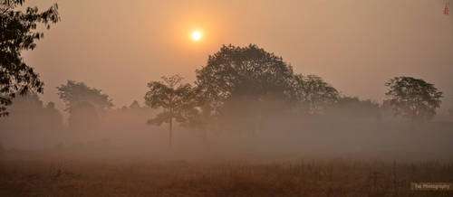 FOGGY SUNRISE by faizan47