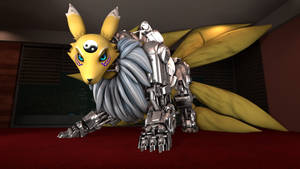 Cyber Kyubimon