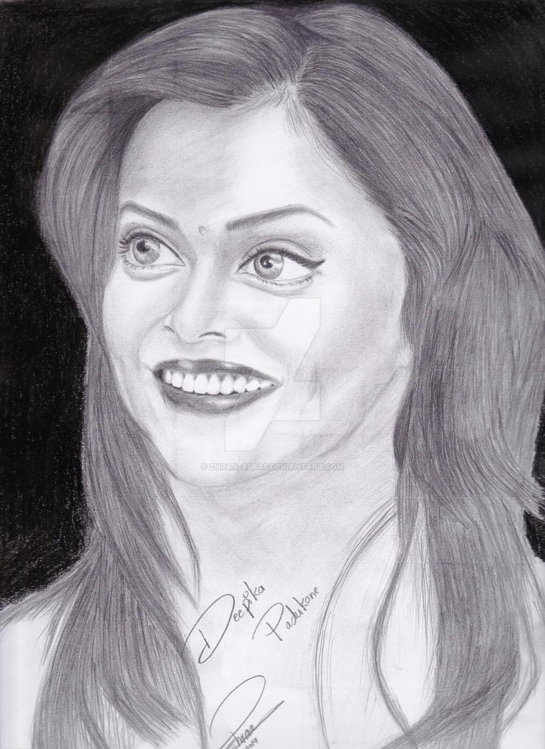 Deepika Padukone by Zhraa-Abbas