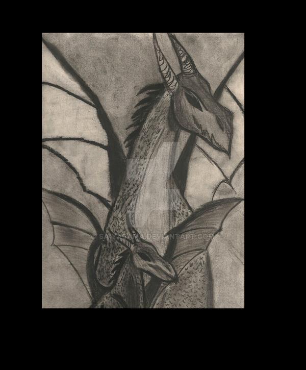 Dragon Shadows by Saiyasama
