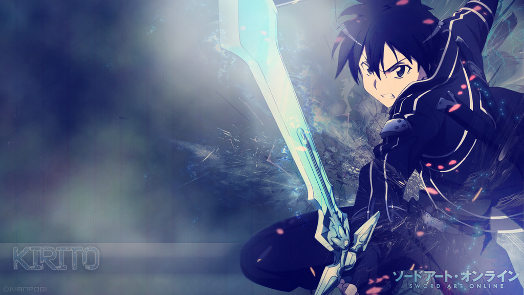 Kirito Wallpaper - Sword Art Online by ivanpogi on DeviantArt