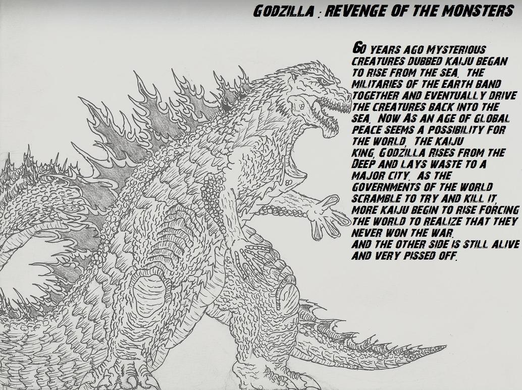 Godzilla Rises by TheAngryKaijuGuy