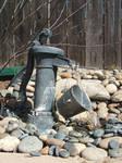 Rocky Water Pump Fountain