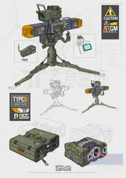 AntiTank Guided Missile  Laser guider case