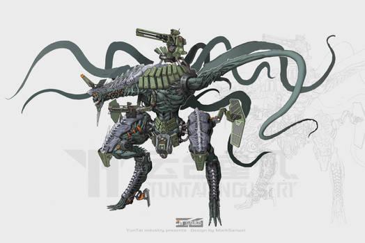 tentacle mecha