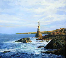 Ahtopol's Lighthouse by kirilart
