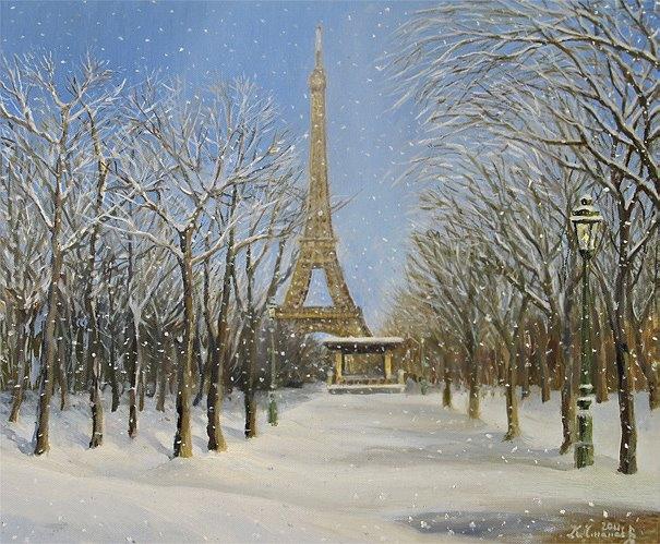 Winter In Paris By Kirilart On DeviantArt