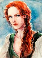 Triss Merigold by LucioCrescent
