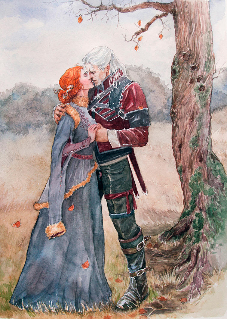 Witcher Book Cover Art : His heart is now at peace by luciocrescent on deviantart