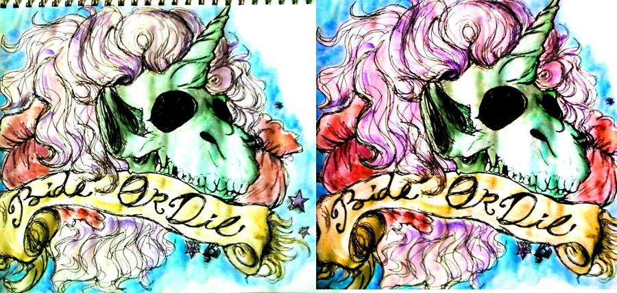 Ride or die by helly jelly on deviantart for Ride or die tattoo designs