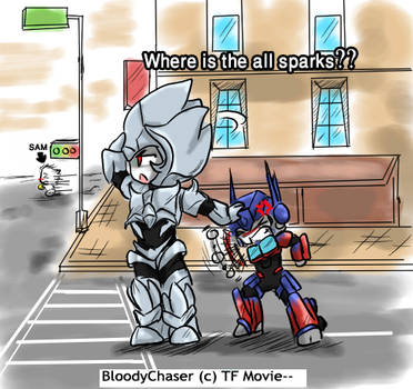 behind the scene 11_TF Movie by BloodyChaser