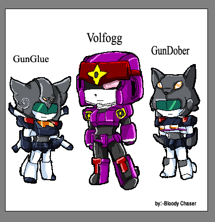 GGG - chibi Volfogg by BloodyChaser